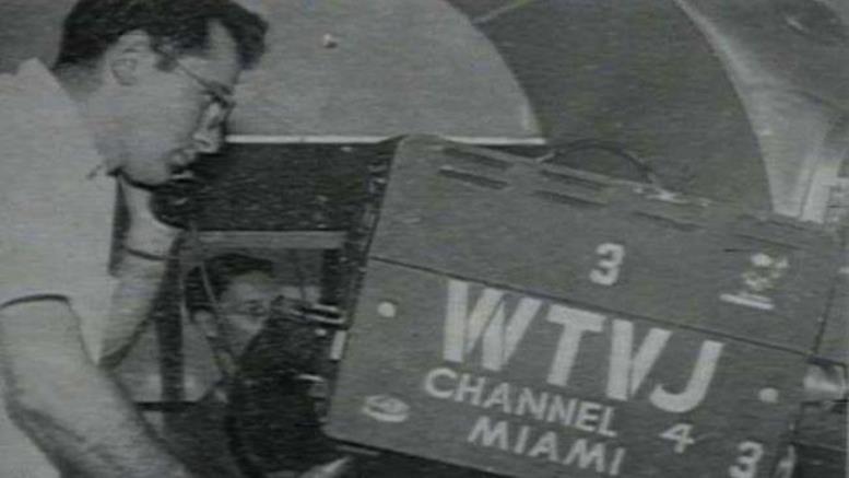 WTVJ Cameraman in 1949