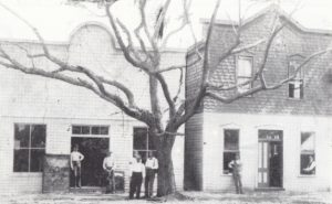 Brady's Grocery & Bank of Bay Biscayne in 1896.