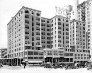 McAllister Hotel on April 15, 1926