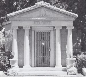 Belcher Mausoleum in 1998.