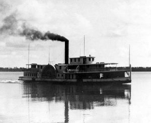 Rockledge Steamship in 1888 on Indian River.
