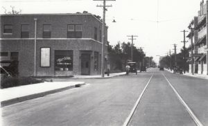 Looking South on Miami Avenue in 1930s