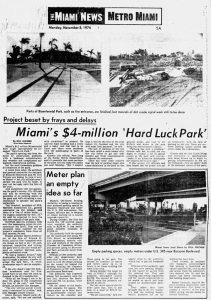 Miami News on November 8, 1976