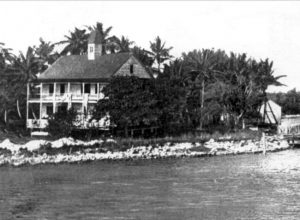 Brickell Point in 1890s