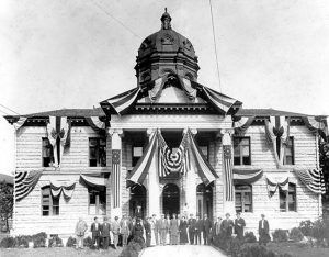 Dedication of Dade County Courthouse in 1904