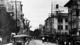NE First Avenue in 1920