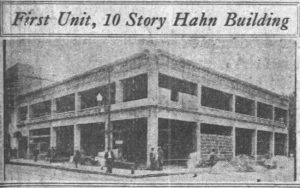 Hahn Building on January 1, 1924 (Miami News)