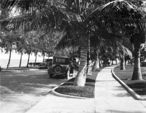South Bayshore Drive in 1925
