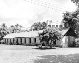 Slave Plantation Barracks in Lummus Park