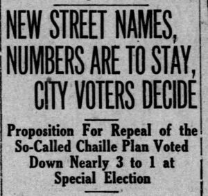 Results Repeal Vote on June 29, 1921 in Miami News