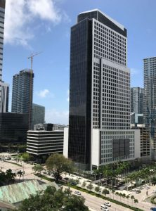 Brickell World Plaza in 2018