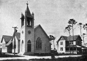 First Baptist Church Service in 1901