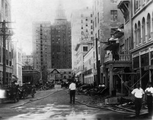 Short Street after 1926 Hurricane