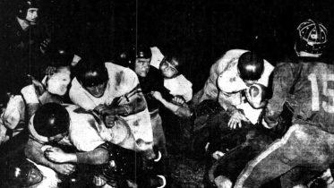 Simpson Scoring Touchdown in 1952