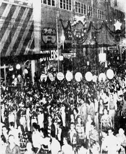 Parade on Flagler Street on November 27, 1952
