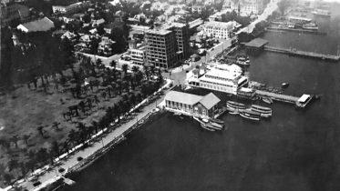 Aerial of Elser Pier in 1917