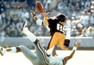 Lynn Swan in Super Bowl X