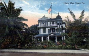 Postcard of Miami Club in 1912