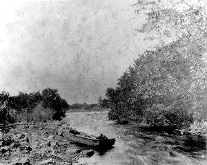 Miami River rapids in 1896