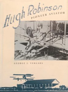 Book cover of Hugh Robinson - Pioneer Aviator