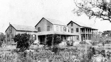 Bay View Inn in 1880s