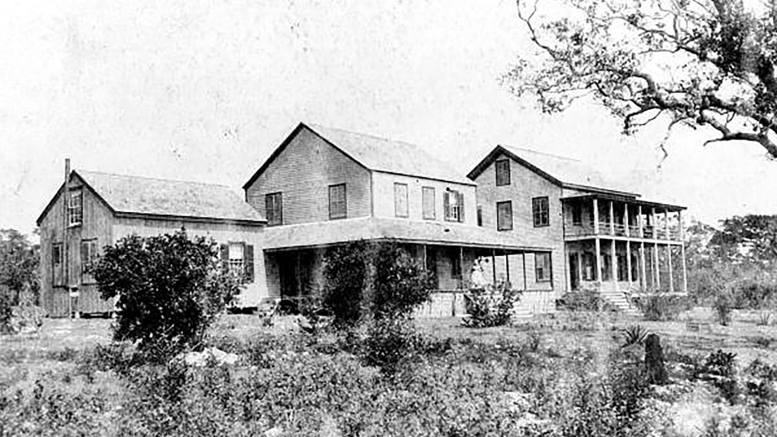 Bay View Inn in 1880s