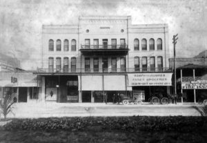 Romfh & Hughes Grocery in Finlay Building