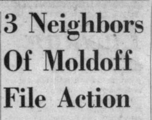 Headline in Miami Herald on January 21, 1947