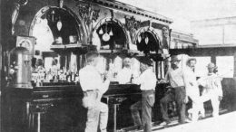 Inside of Majestic Saloon in 1904