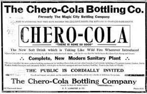 Ad in Miami Herald in 1915