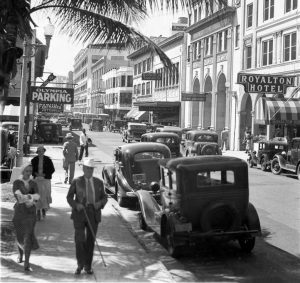 SE First Street in 1935