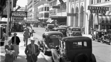 SE First Street on March 12, 1935