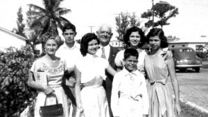 Martinez family in 1955