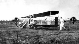 Wright Brothers Plane Piloted by Howard Gill in 1911