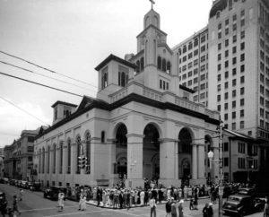 Gesu Church in 1939