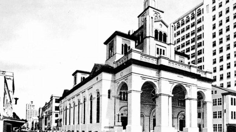Gesu Church in 1940s