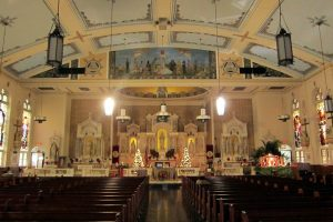 Interior of Gesu Catholic Church