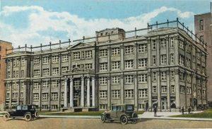Postcard of Gesu School