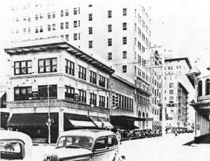 Converse Building in 1925