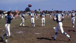 Miami Dolphins Practice in 1966