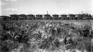 Overtown Residences & Miami Post in 1935