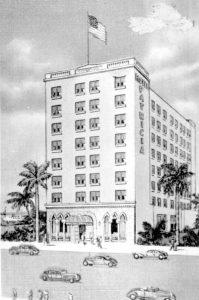 Patricia Hotel in 1953