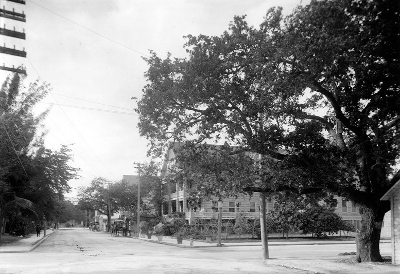 Avenue C Looking South in 1910