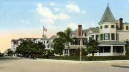 Postcard of Flagler Street in 1912