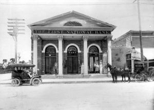 First National Bank Building in 1907