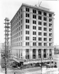 First National Bank Building in 1921