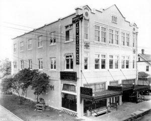 Clayton Building in 1921