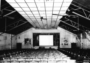 Interior of Park Theater on June 1, 1921