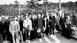 Cornerstone Ceremony for University of Miami on February 4, 1926
