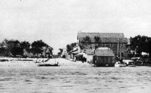 Avenue D from Miami River in 1896